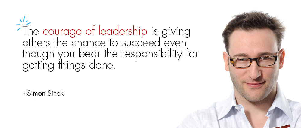 Simon Sinek Business Leadership Quote