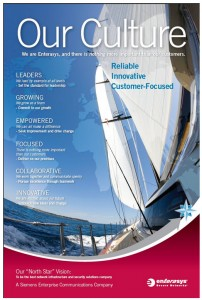 Enterasys' Culture Card for Social Business Excellence