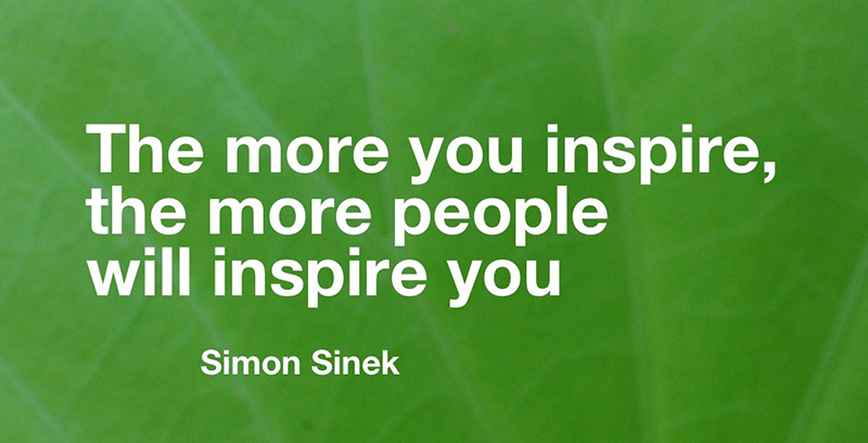 the more you inspire